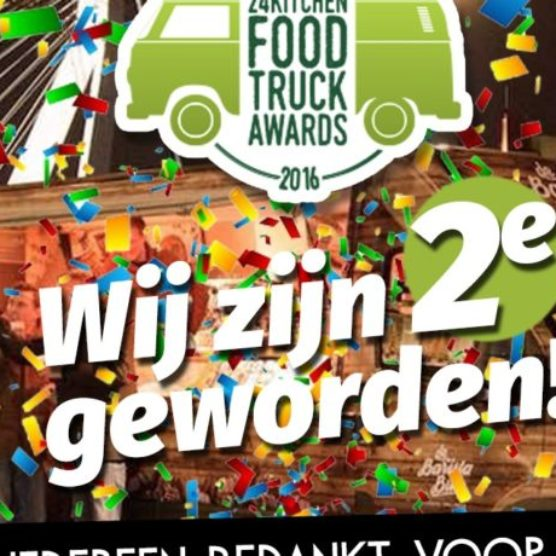 2e plaats in de 24Kitchen Foodtruck Awards 2016